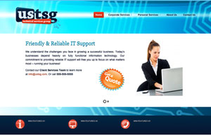 US Technical Services Group Site Design